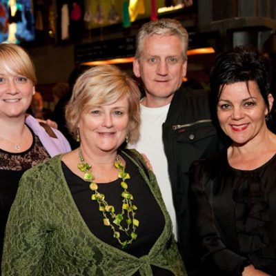Ashleigh Jones, Sue Jones, Chris Jones & Lyn Lowe