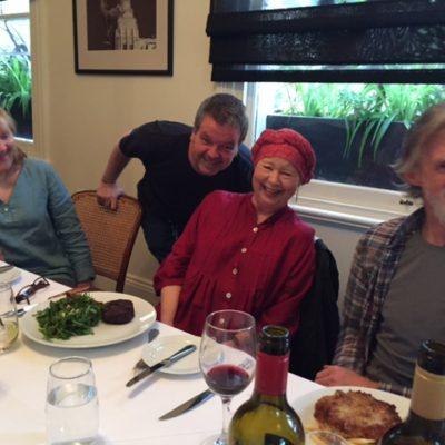 Julie Forsyth, Kevin Harrington, Dina Mann & Don Bridges