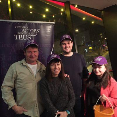 Gary Wall, Naomi Lisner, Lachy Hywood & Aubrey Flood
