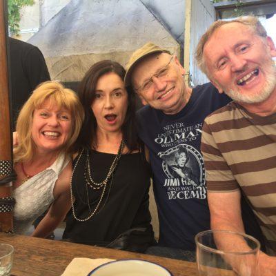 Sandy Morrison, Clare Pickering, David Hugh Macrae & Brian McCallum